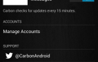 Carbon Twitter for Android
