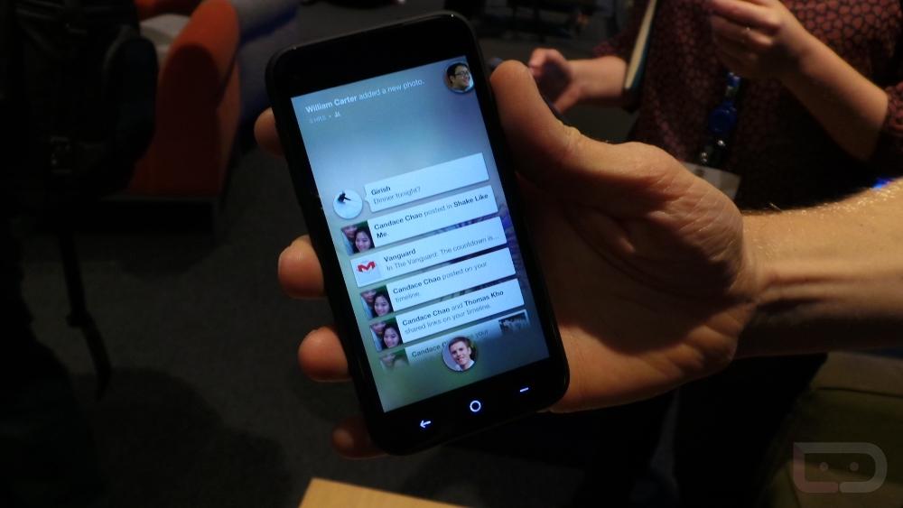 HTC First - Facebook Home