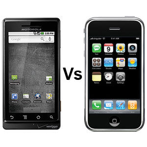 droid vs iphone cell phone inventor drops iphone for droid droid 8021