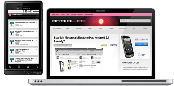 New Droid-Life Website