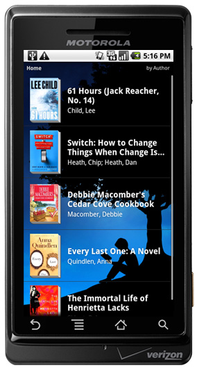 kindle android app available now droid