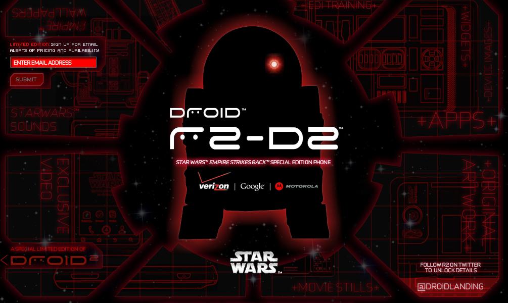 Droid R2d2 Wallpaper Edition R2-d2 Droid 2 Site