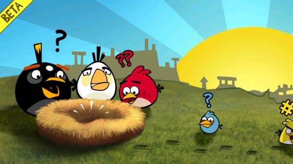 angry birds game 600x337 - Jogo Angry Birds chega aos celulares Android