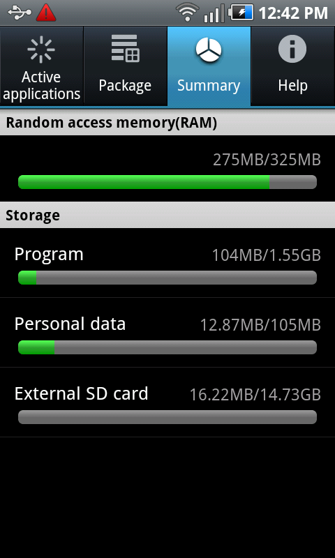 What does 2GB internal memory mean? - Android Forums at