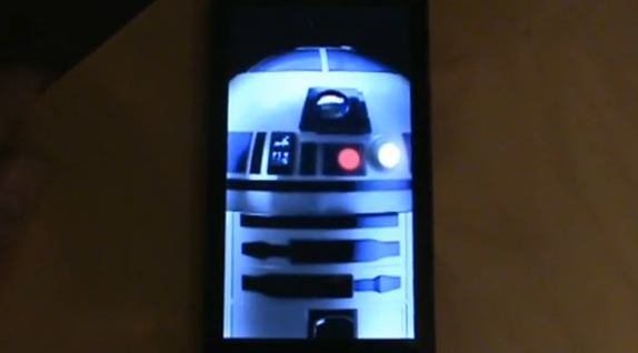 Official R2-D2 DROID 2 Boot Animation
