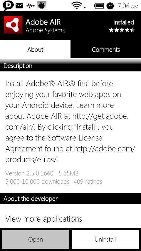 why do i need adobe air