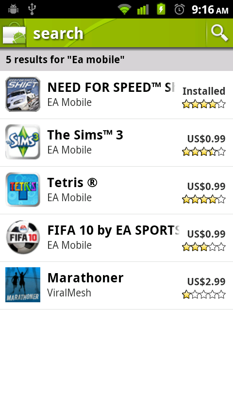 ea games 99cents