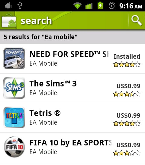 ea mobile games
