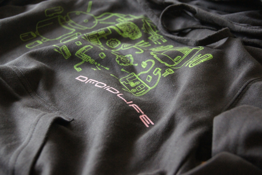 droid life hoodie
