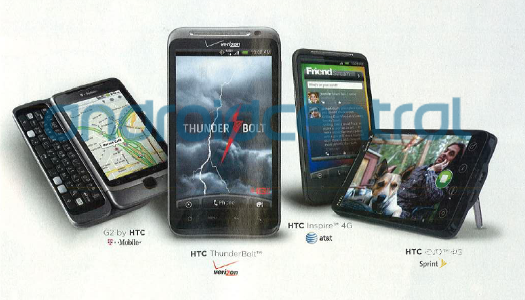 htc thunderbolt kickstand the htc thunderbolt has been spotted in so many places now its becoming silly above is an ad grabbed from the newest rolling stone magazine and it appears ad droid life