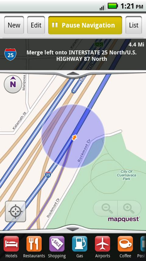 MapQuest Android App Released, Free Voice-guided Turn-by-turn ... on kentucky mapquest, texas mapquest, google mapquest, search mapquest, des plaines il mapquest, effingham il mapquest,