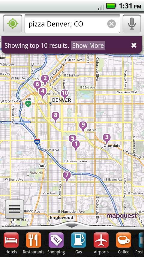 MapQuest Android App Released, Free Voice-guided Turn-by