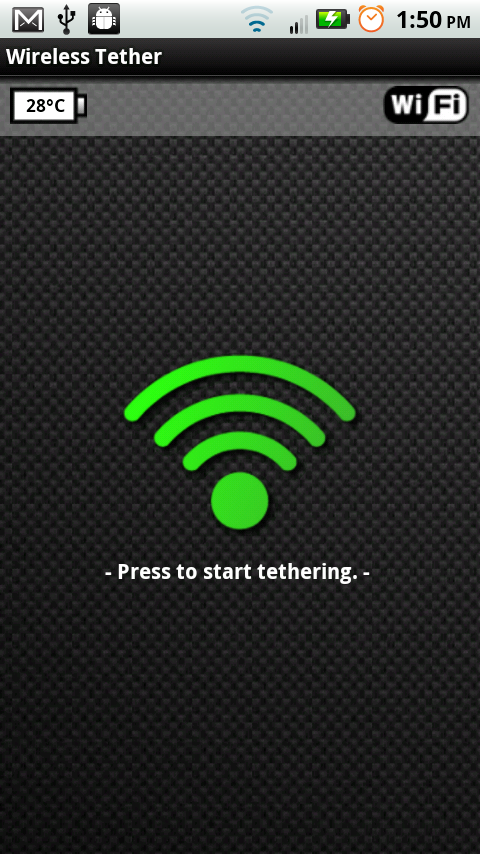 How to: Wireless Tether a Motorola XOOM to a DROID X ...