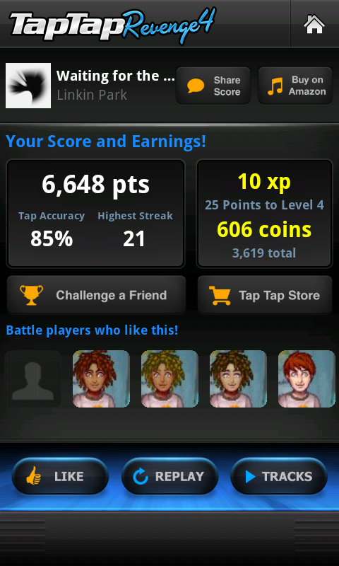 Tap Tap Revenge Finally Comes to Android
