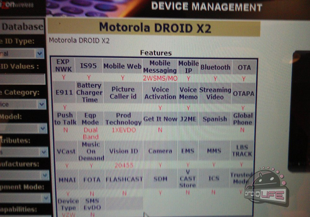 Entire New DROID Lineup Appears in Verizon Device Manager: BIONIC