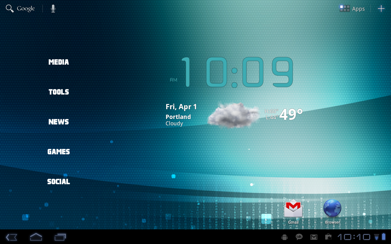 how to: organize your motorola xoom home screens using