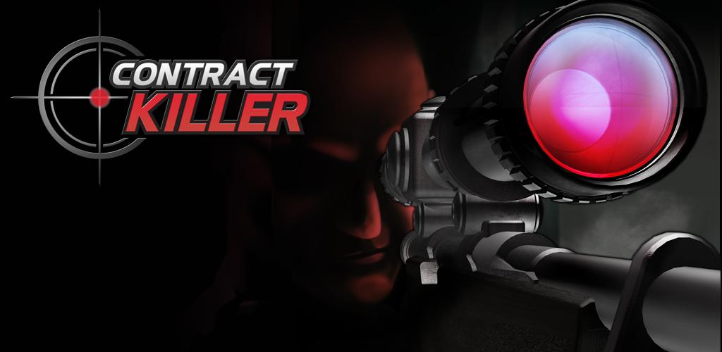 This is Contract Killer the games logo