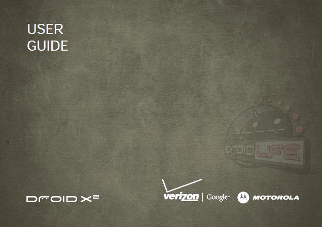 Download: Motorola DROIDX2 User Guide