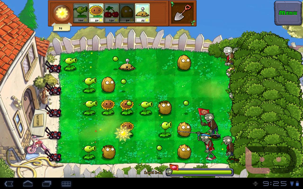 Все игры на андроид растения против зомби 2
