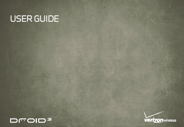 Download: Motorola DROID3 User Guide