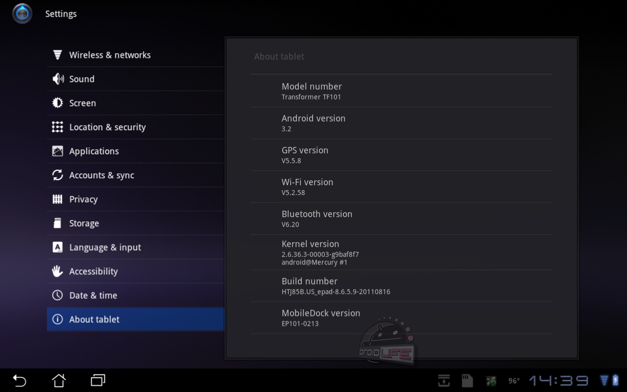 Asus Transformer Receives Minor Update: Netflix Support May Be