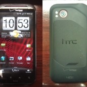 htc vigor front back