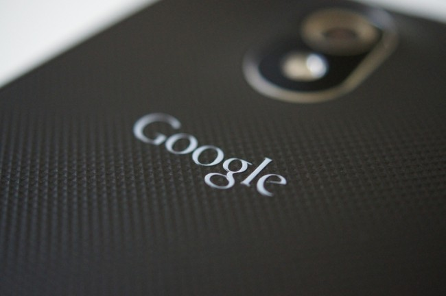 google logo galaxy nexus