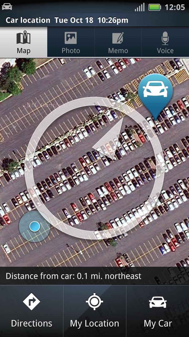 car finder: