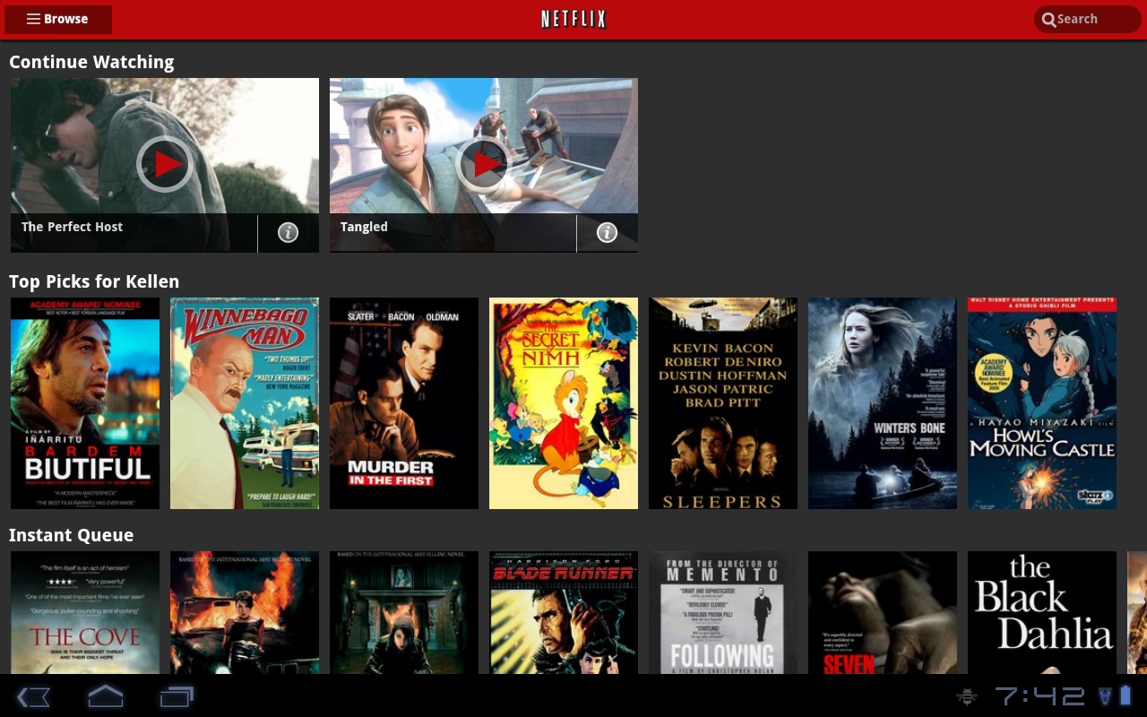 Netflix App on Android Receives Tablet UI Overhaul, Ahead of iPad