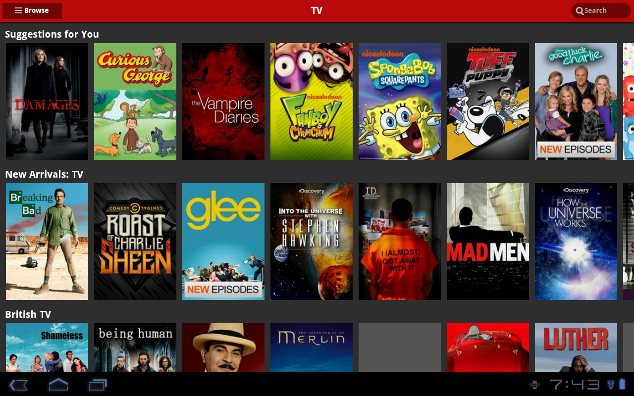 Netflix App On Android Receives Tablet UI Overhaul Ahead