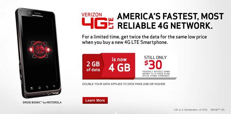 Vzw data deals