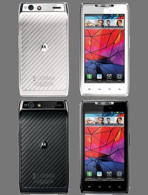 White Motorola DROID RAZR in the Works?