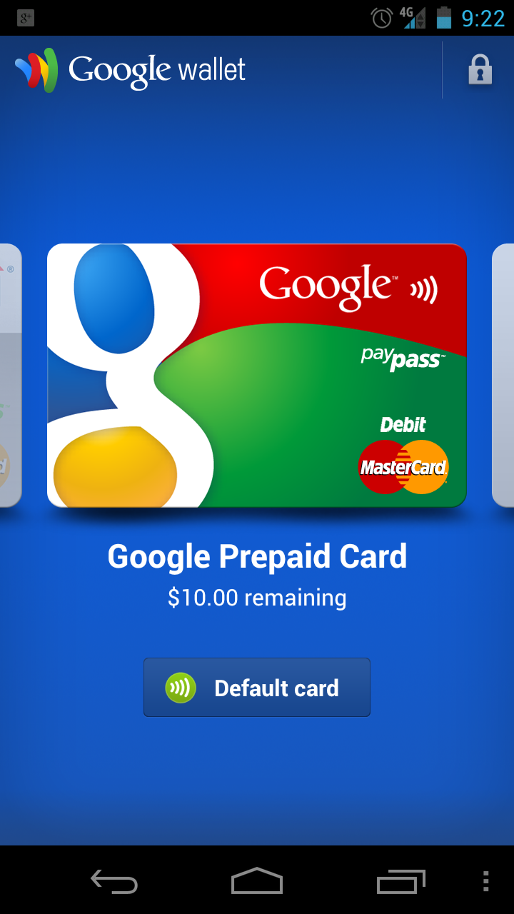 Download: Google Wallet Apk for Galaxy Nexus LTE, All Users