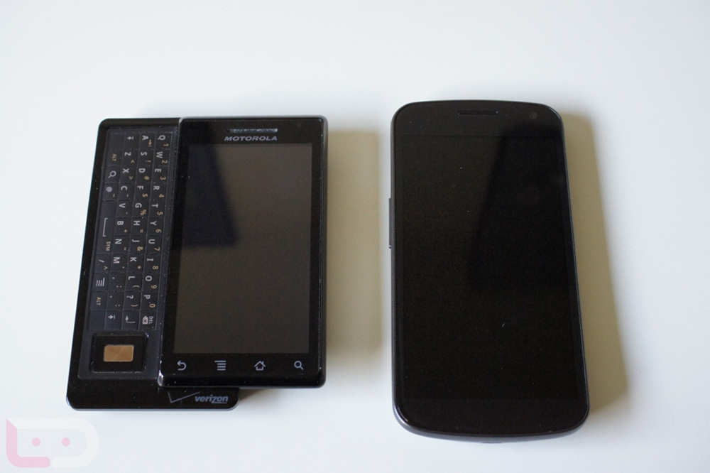 Samsung Galaxy Nexus vs. Original Motorola DROID – Droid Life