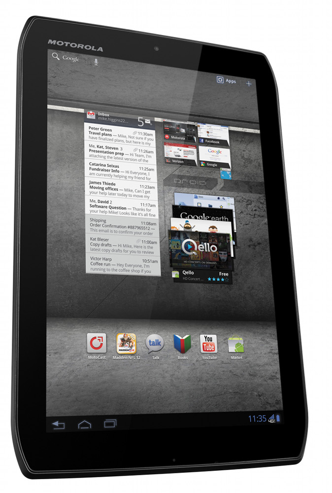 Verizon Announces Two New 4g Lte Tablets From Motorola