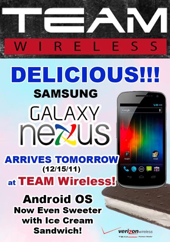 Mattress Blowout Sale Premium VZW Retailers Sending Out Galaxy Nexus Emails – It's ...