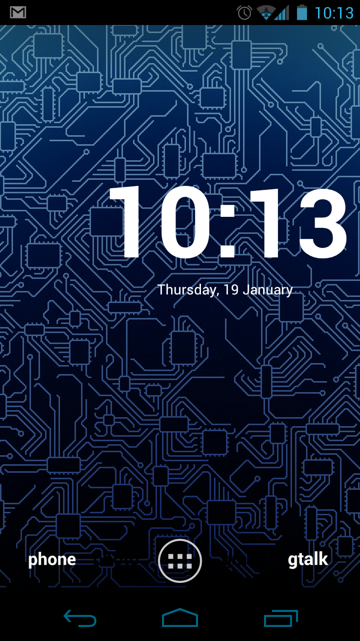 A Reader Dropped Circuitry Live Wallpaper