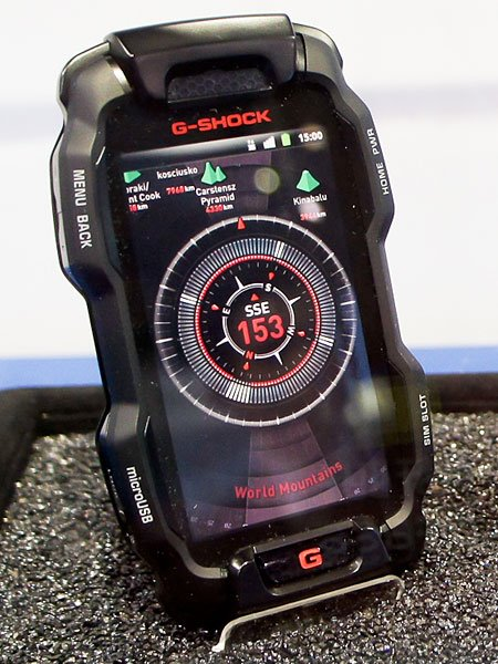 Official G-Shock Phone Runs Android and Can Survive a 10 Foot Drop