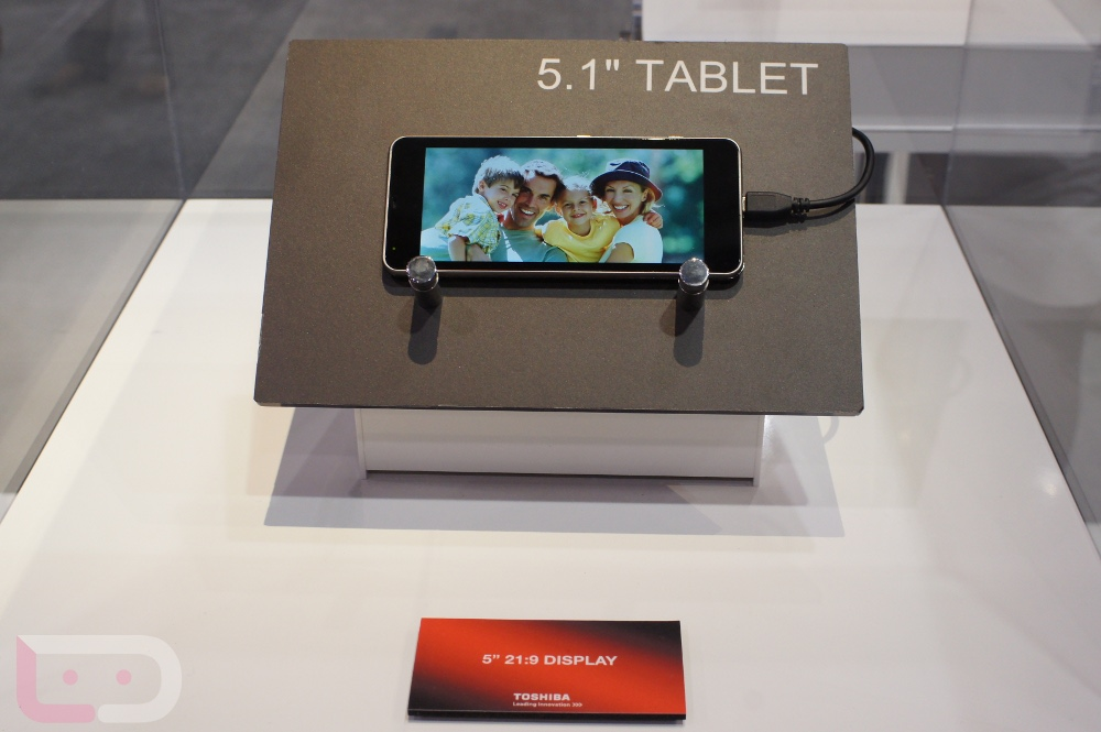 Quick First Look: Toshiba's 2012 Line of Tablets ...