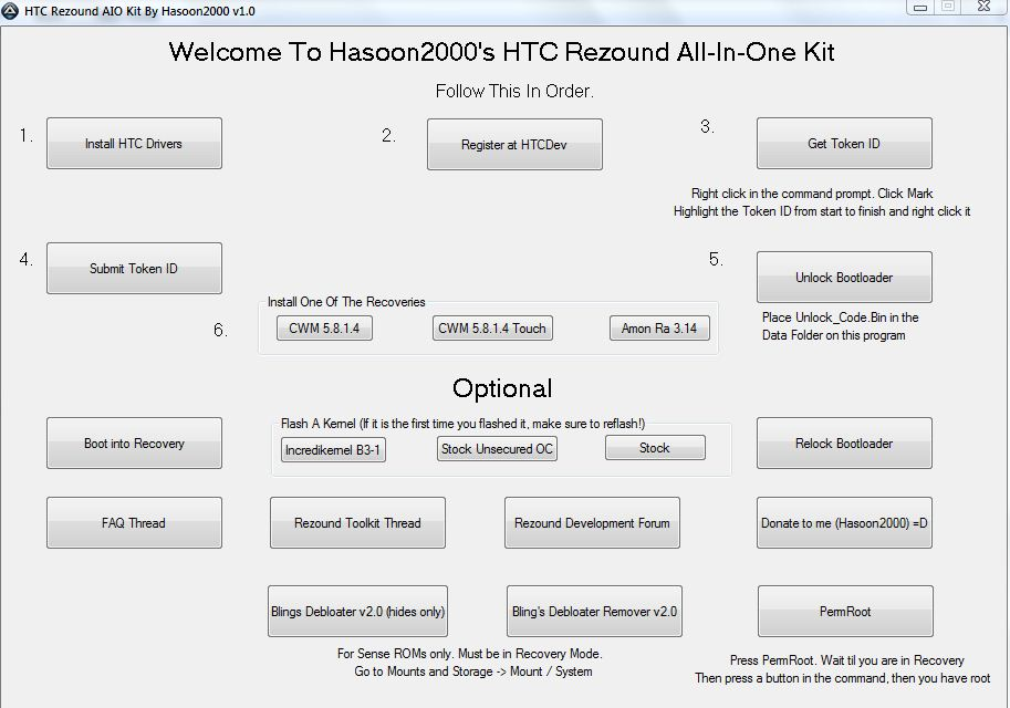 HTC Rezound Root Tool – Droid Life