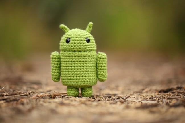 android amigurumi