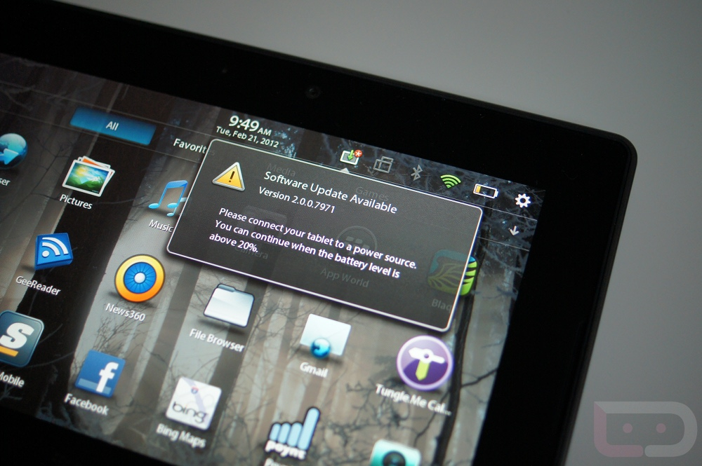 can you download android apps on blackberry playbook have