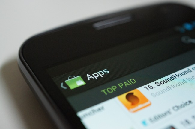android best paid apps 2012