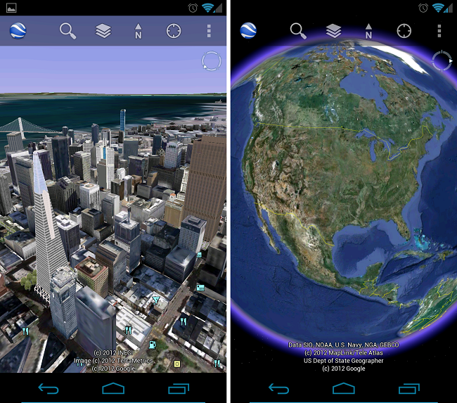 Google Earth Receives Update, New Layers Including Real-Time