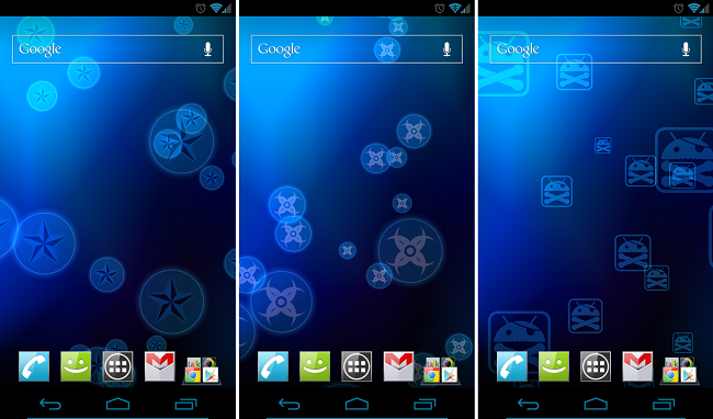 Developers Create Ice Cream Sandwich Inspired Live Wallpapers, Now