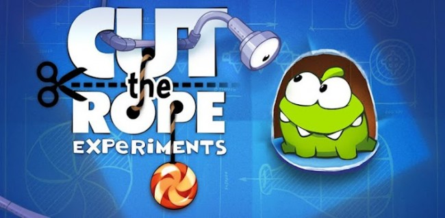 cut the rope experiements