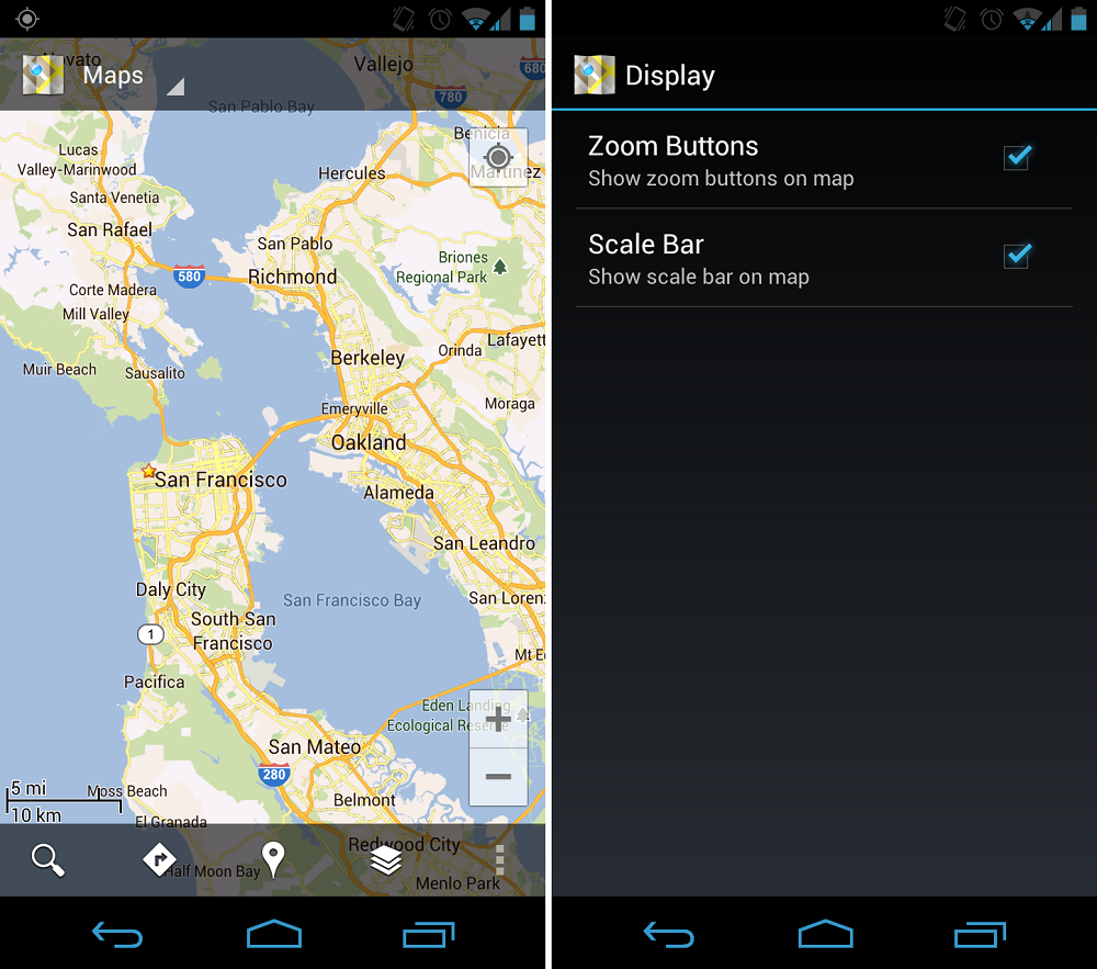 Google Maps Updated, Scale Bar and Zoom Buttons Moved From ...