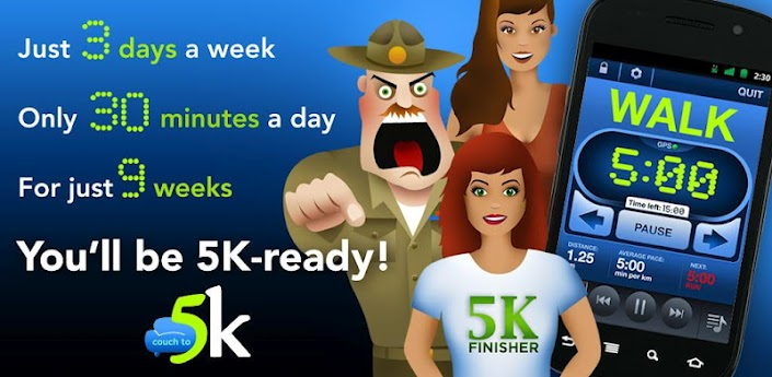 Couch to 5k app comes to android droid life for Couch 5k app