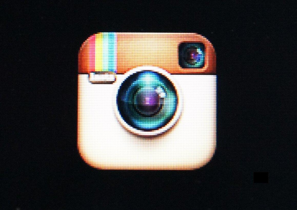 Image Gallery instagram black background