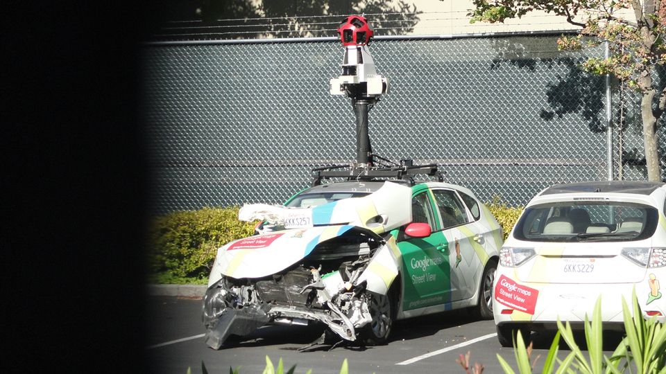 Back Up Cameras >> Google Maps Car Involved in Accident, Investigating Should Be a Breeze – Droid Life